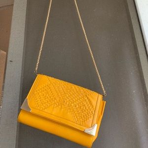 Mustard Cross Body